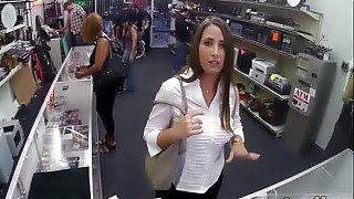 Mature wife blowjob hd PawnShop Confession!