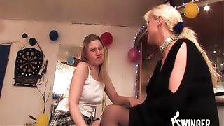 Birthday sex party