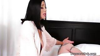 Petite huge boobs wife cheating husband