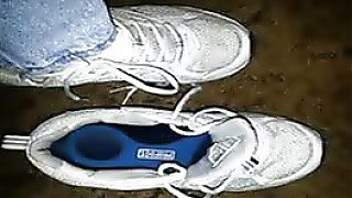 Mature feet shoe fetish video compilation of beaut