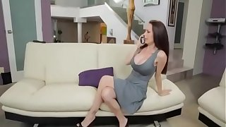 Stepmom Gives Him Handjob to Young Boy and fucks her Doggystyle