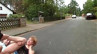 Amazing public sex on the street by very
