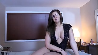 Blackmailing My Stripper Step Mom Series - Mom Creampie