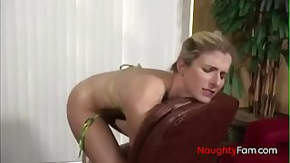 Pervert Son forces Anal with Mom - FREE Mom Videos at NaughtyFam.com