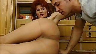 Mom Stimulates Pussy Sucks Cock Ass Fucked
