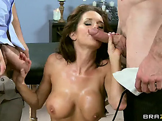 Mother in law peculiar veronica avluv 1st double penetration fearsome(brazzers)